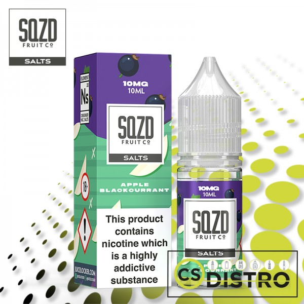 SQZD Salt Apple Blackcurrant