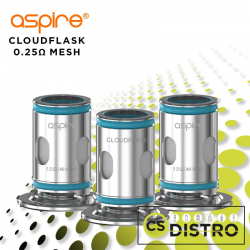 Cloudflask Mesh Coils