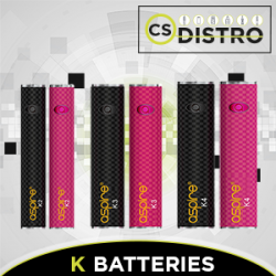 Aspire K Batteries