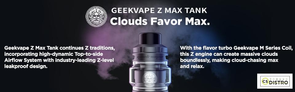 Geek Vape Z Max Tank  Wholesale UK